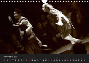 Cirque Bouffon NANDOU (Wandkalender 2019 DIN A4 quer)