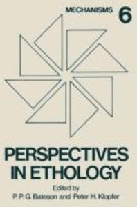 Perspectives in Ethology