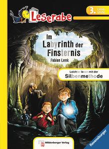 Leserabe - Im Labyrinth der Finsternis. Lesestufe 3, Band 1