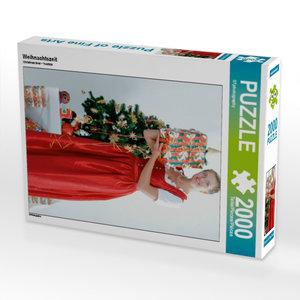 Weihnachtszeit 2000 Teile Puzzle hoch