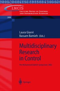 Multidisciplinary Research in Control