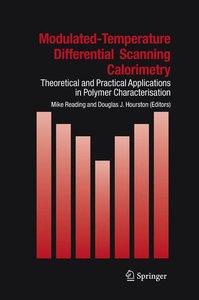 Modulated Temperature Differential Scanning Calorimetry
