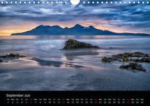 Scottish Scenes (Wall Calendar 2020 DIN A4 Landscape)