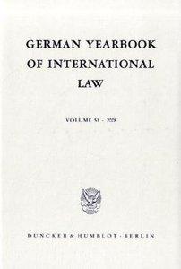 German Yearbook of International Law / Jahrbuch für Internationa