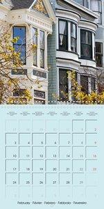 San Francisco Golden Gate City (Wall Calendar 2020 300 × 300 mm