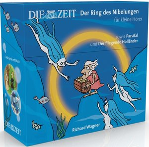 Box Der Ring des Nibelungen für kleine Hörer, sowie Parsifal und