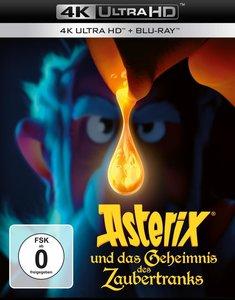 Asterix und das Geheimnis des Zaubertranks 4K, 1 UHD-Blu-ray