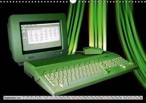 Computer der 80er (Wandkalender 2019 DIN A3 quer)