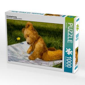 Urlaubsplanung 1000 Teile Puzzle quer