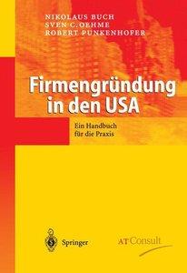Firmengründung in den USA