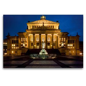 Premium Textil-Leinwand 120 cm x 80 cm quer Konzerthaus