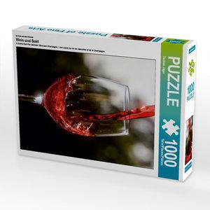 Ein Motiv aus dem Kalender Wein und Sekt 1000 Teile Puzzle hoch