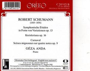 Symphon.Etüden/Kreisleriana/Carnaval