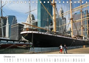 Faszination Schifffahrt - Meere und Hafenstädte (Tischkalender 2