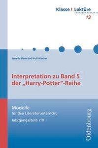 Harry Potter 5. Lektüre