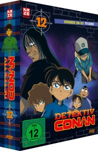 Detektiv Conan. Box.12, 5 DVD