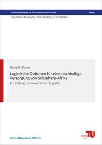 Logistische Optionen für eine nachhaltige Versorgung von Subsaha