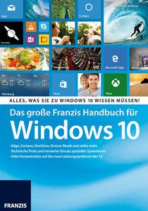 Das große Franzis Handbuch für Windows 10
