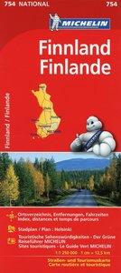 Finnland 1 : 1 250 000 Nationalkarte