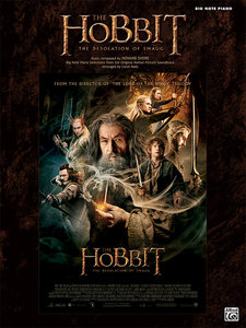 The Hobbit -- The Desolation of Smaug: Big Note Piano Selections