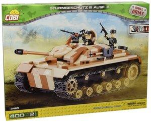 COBI 2465 - Sturmgeschütz III Ausführung G, Small Army, beige/br