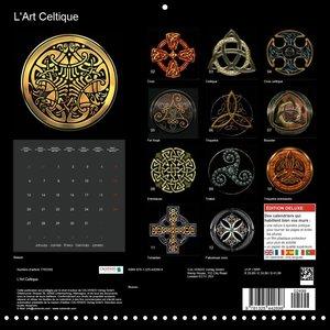 L\'Art Celtique (Calendrier mural 2020 300 × 300 mm Square)