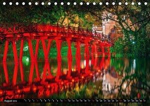 VIETNAM - Von Saigon nach Hanoi (Tischkalender 2019 DIN A5 quer)