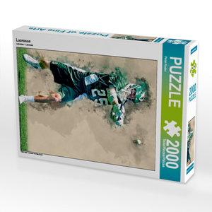 Lacrosse 2000 Teile Puzzle hoch