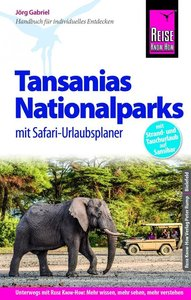 Reise Know-How Reiseführer Tansanias Nationalparks mit Safari-U