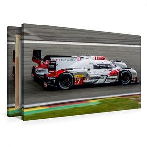 Premium Textil-Leinwand 75 cm x 50 cm quer Audi R18 e-tron quatt