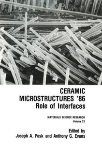 Ceramic Microstructures '86