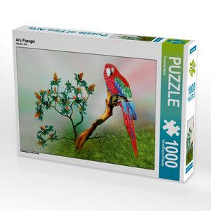 Ara Papagei 1000 Teile Puzzle quer