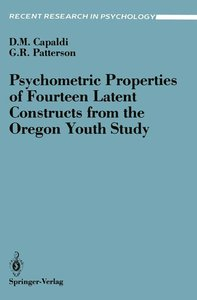 Psychometric Properties of Fourteen Latent Constructs from the O