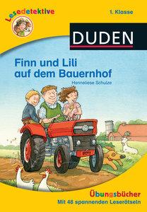 Lesedetektive Übungsbücher - Finn und Lili auf dem Bauernhof, 1.