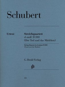 """Streichquartett """"Der Tod und das Mädchen"""" d-moll D 810"""