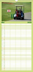 Passion Golf - Familienplaner hoch (Wandkalender 2020 , 21 cm x