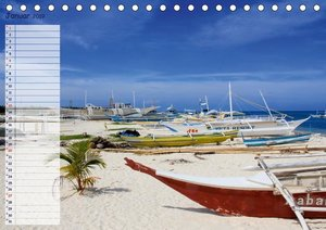 Malapascua Island Philippinen (Tischkalender 2019 DIN A5 quer)