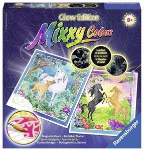 Ravensburger 29439 - Mixxy Colors, Aquarell, Treue Pferde