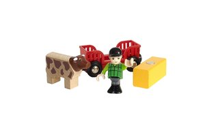 Spielpäckchen Bauer mit Kuh