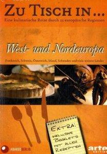 Zu Tisch in . . . West- und Nordeuropa. Box.2, 5 DVDs