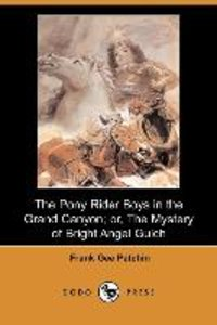 The Pony Rider Boys in the Grand Canyon; Or, the Mystery of Brig