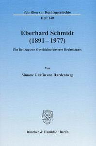 Eberhard Schmidt (1891 - 1977)