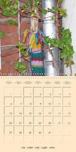 Urban Knitting (Wall Calendar 2020 300 × 300 mm Square)