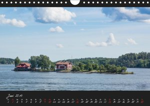 Stockholm und seine Schären (Wandkalender 2019 DIN A4 quer)