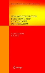 Nonsmooth Vector Functions and Continuous Optimization