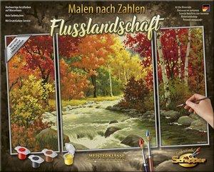 Schipper 609260779 - Malen Nach Zahlen, Flusslandschaft