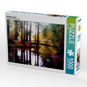 Brücken bauen 1000 Teile Puzzle quer
