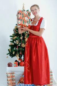 Premium Textil-Leinwand 80 cm x 120 cm hoch Weihnachtszeit