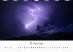 Gewitter - atemberaubende Naturschauspiele (Wandkalender 2019 DI