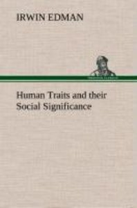 Human Traits and their Social Significance